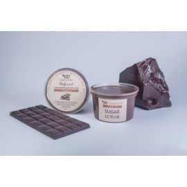 """Сахарный скраб для тела """"Шоколад"""" 250 мл"""