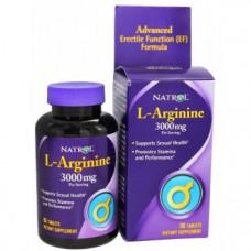 Natrol L-Arginine 3000 мг 90 таблеток