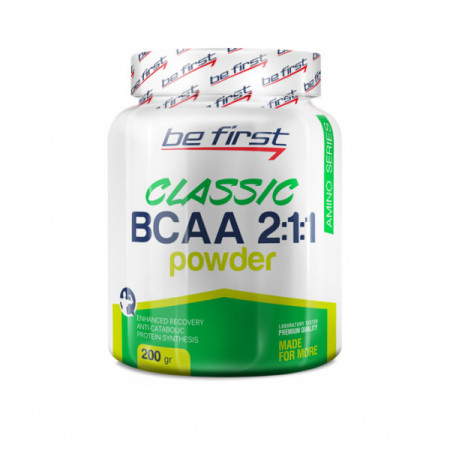 Be First BCAA 2:1:1 Classic Powder