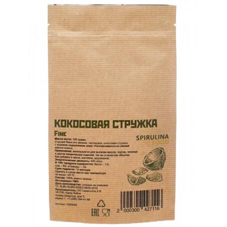 Кокосовая стружка fine 100 гр