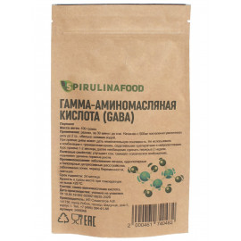 Гамма-аминомасляная кислота ,GABA, ГАБА, 100 гр