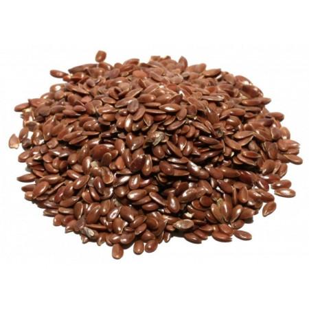 Лен темный семена