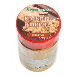 Имбирь корень молотый Premium, 100 гр