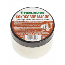 Кокосовое масло,Extra Virgin, 250 гр